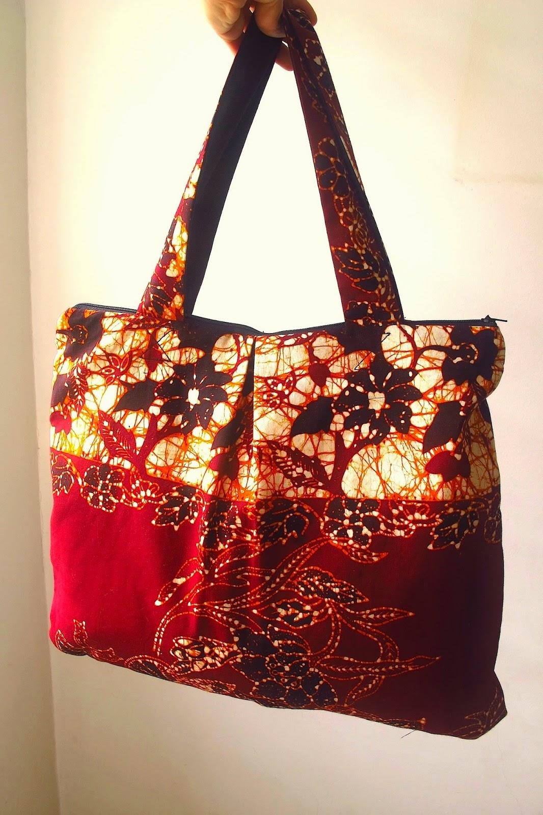 Timi Vintage Batik Bags Bag Brown