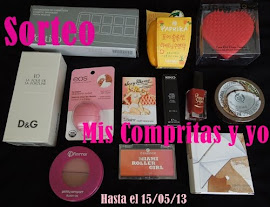 "1 SORTEO ""MIS COMPRITAS Y YO"""