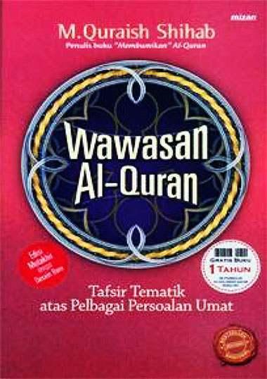 Buku Wawasan Al Quran Quraish Shihab