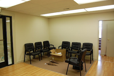 L M Cline 39 S Interior Decorating Tranquil Doctor 39 S Office The Waiti