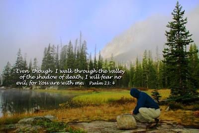 Psalm 23:4 Wallpaper