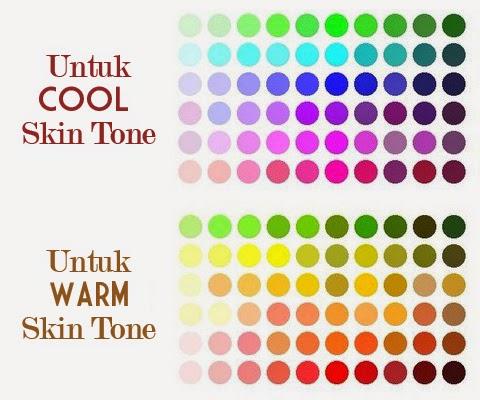 warna yang cocok untuk kulit