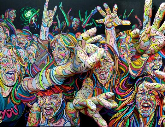 Pintura e Grafite 3D na arte de Shaka