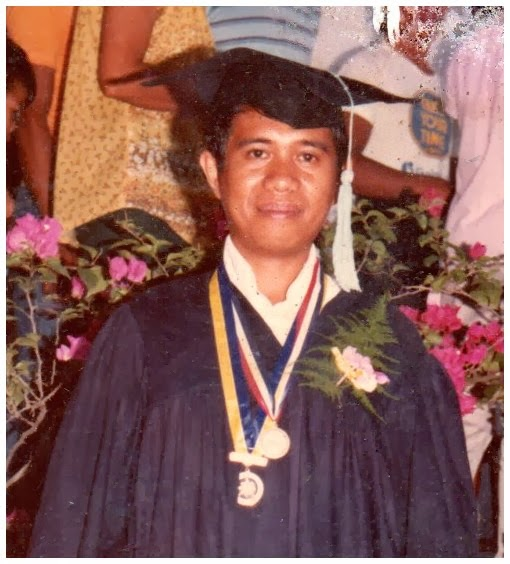 Gil Camporazo BEED graduation in 1985