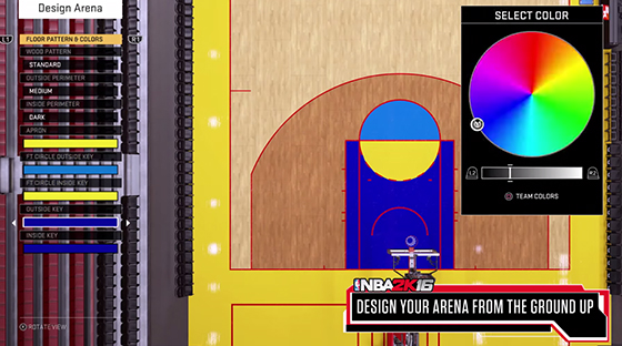 NBA 2K16 2K Pro-AM Mode Customization