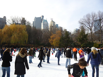 Wollman Rink Skaters
