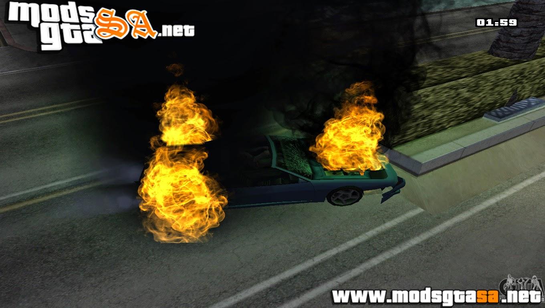 SA - Mod Burning (Carro em Chamas)