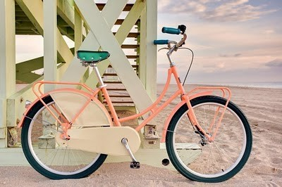 pink,vélo,bike,beach bike
