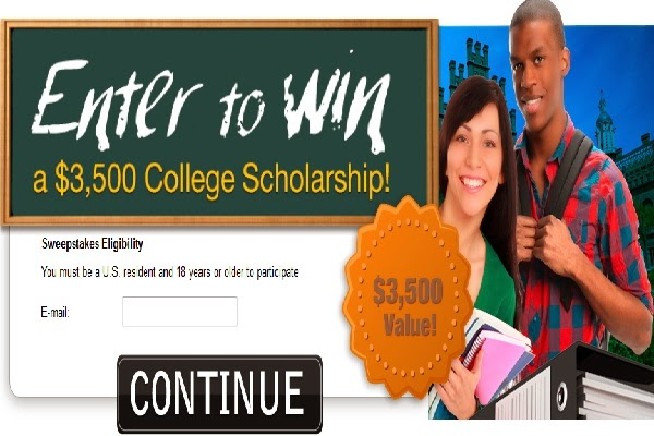 Get A Chance to Get $3500 College Scholarship