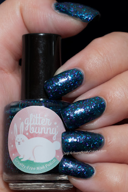 Glitter Bunny Polish Part Of That World