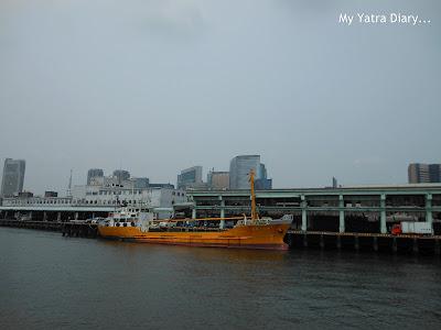 Tsukiji Fish Market - Sumida river cruise, Tokyo