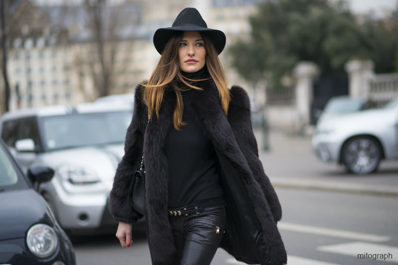 mitograph Allison Kadoche After Balmain Paris Fashion Week 2013 Fall Winter PFW Street Style by Shimpei Mito