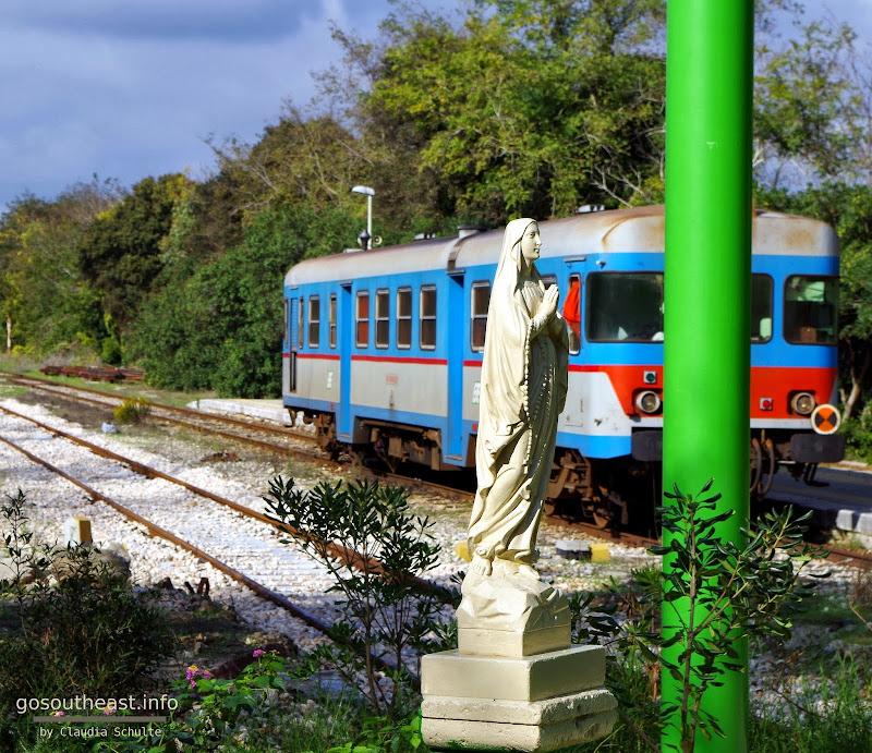 In Otranto endet die Linie Maglie - Otranto der Ferrovie del Sud Est