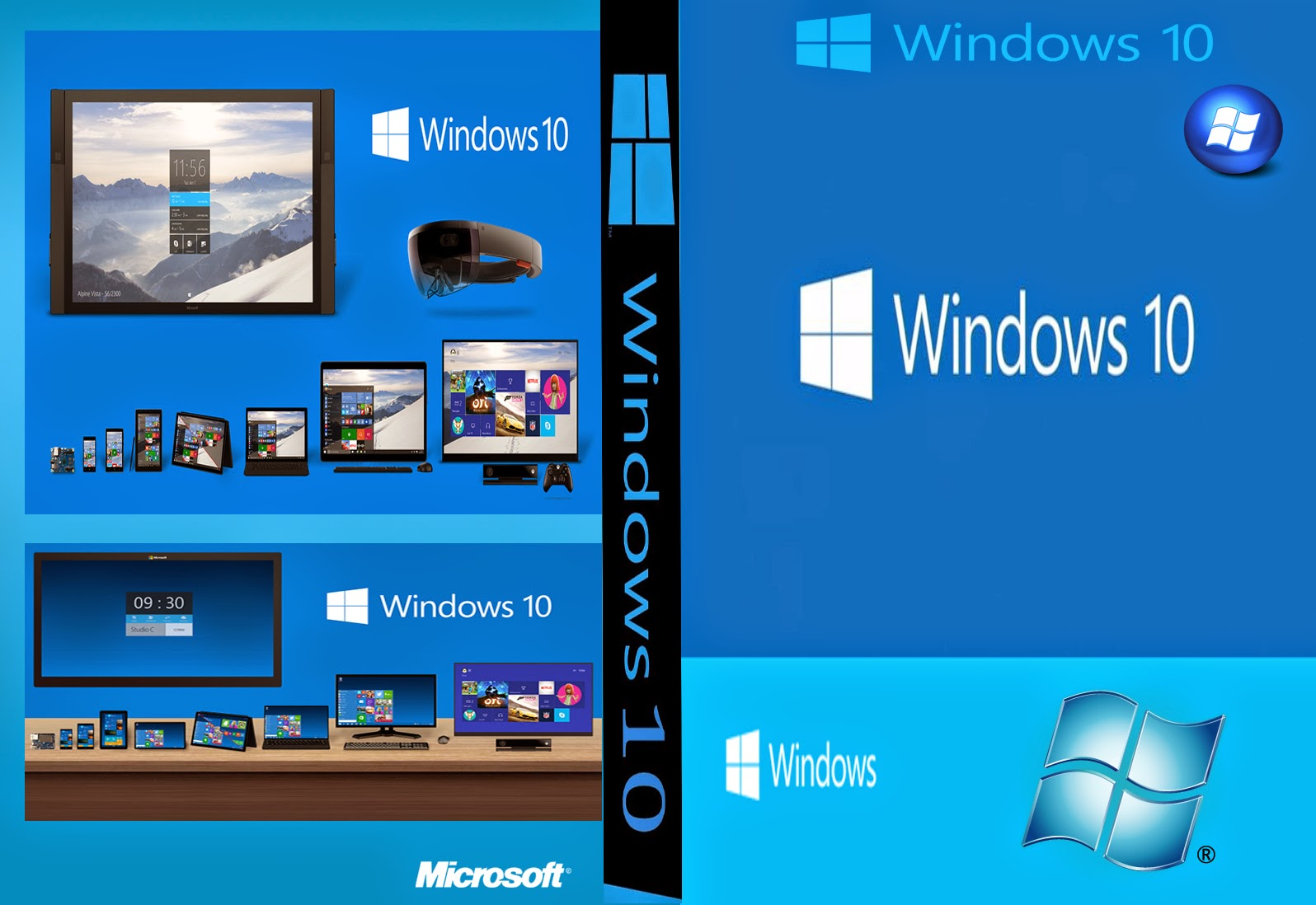 Download Windows 10 Technical x86/x64 PT-BR Windows 10 XANDAO DOWNLOAD