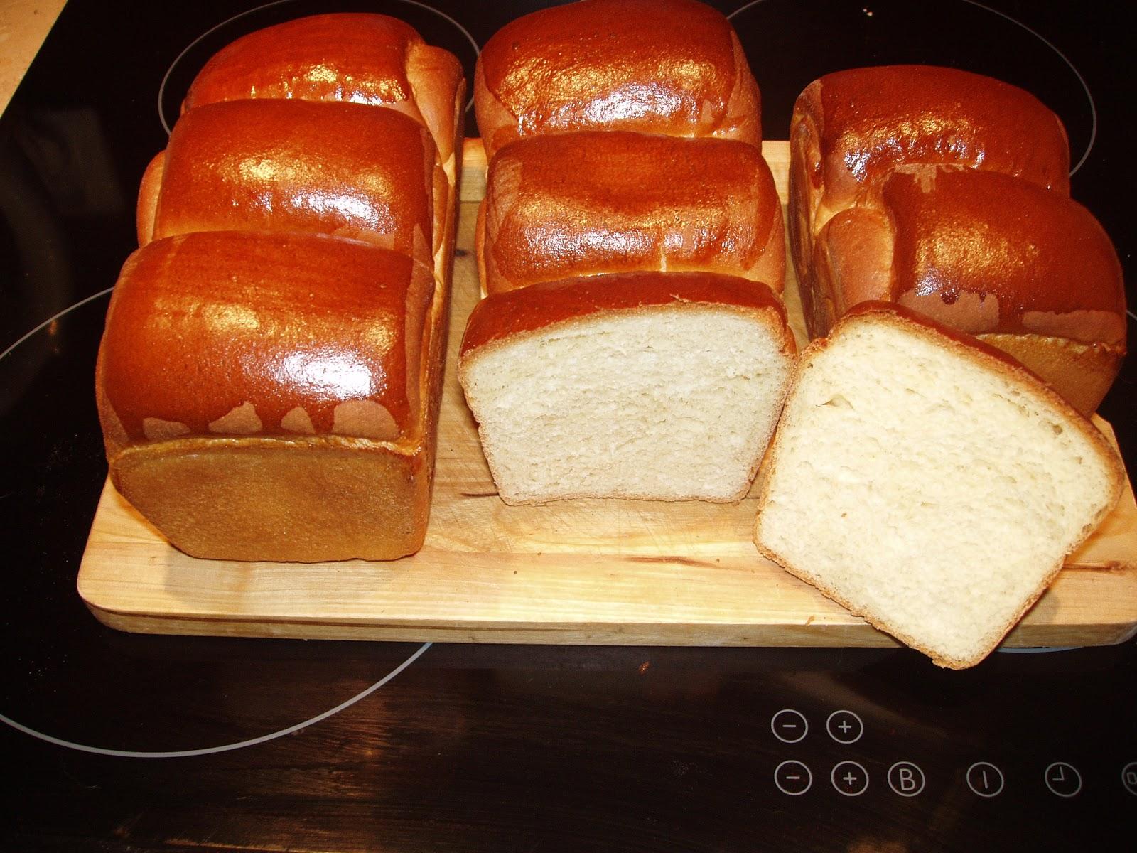 Chleb Hokkaido mleczny na starterze Tang Zong