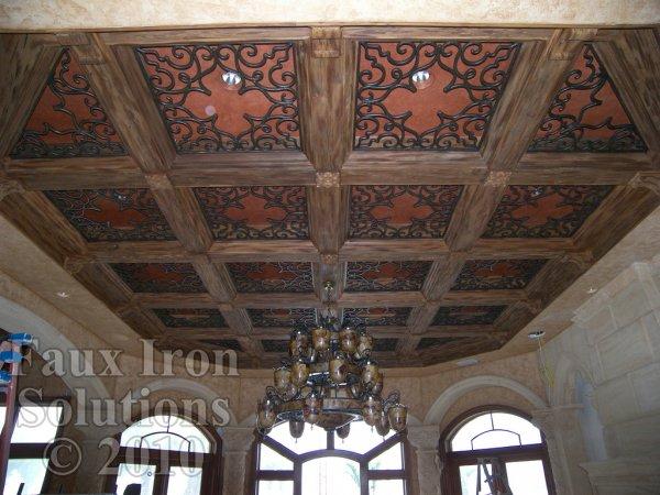 Landfair On Furniture Wrought Iron Ceilings