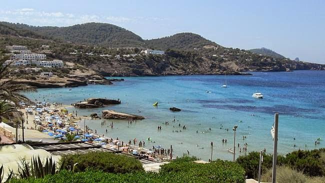 Pantai Cala Tarida, dimana tragedi Na'as itu terjadi