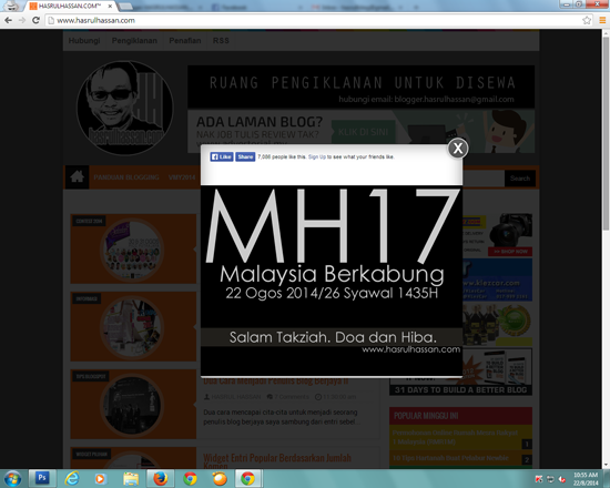 Blogger Malaysia berkabung MH17