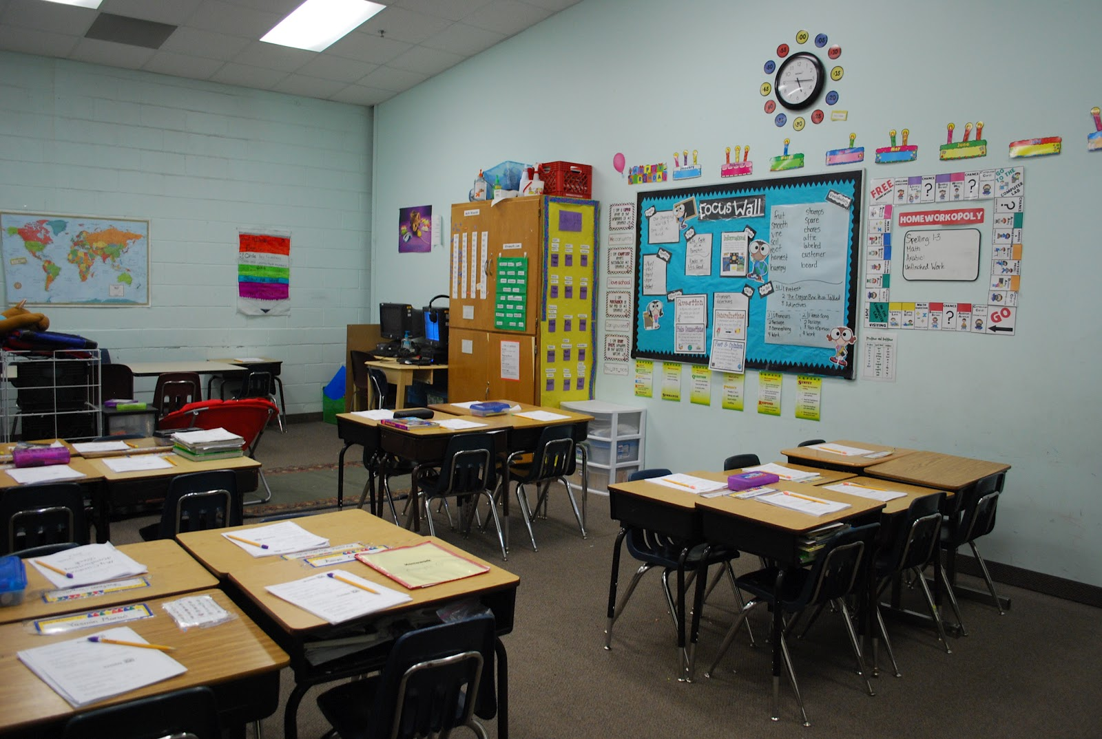 Classroom Decoration Easy ~ Teaching to the test a look at my classroom and easy