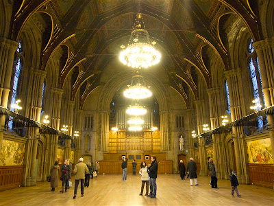 The Great Hall del Ayuntamiento de Manchester