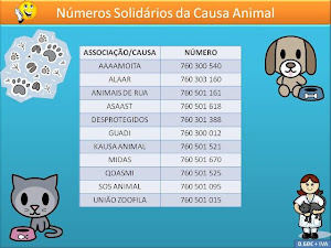 Números solidários da Causa animal