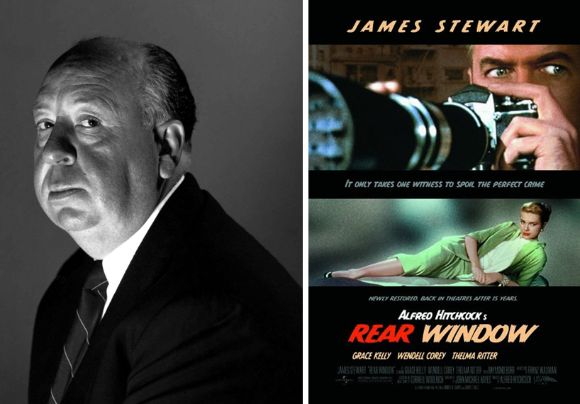 the effects of confinement in rear window a movie by alfred hitchcock The 10 most ingenious techniques used by alfred hitchcock the 10 most ingenious techniques used by alfred hitchcock 26 february 2014 | features, other lists | by chris esper this list represents the techniques and methods he used that made his movies stand out.