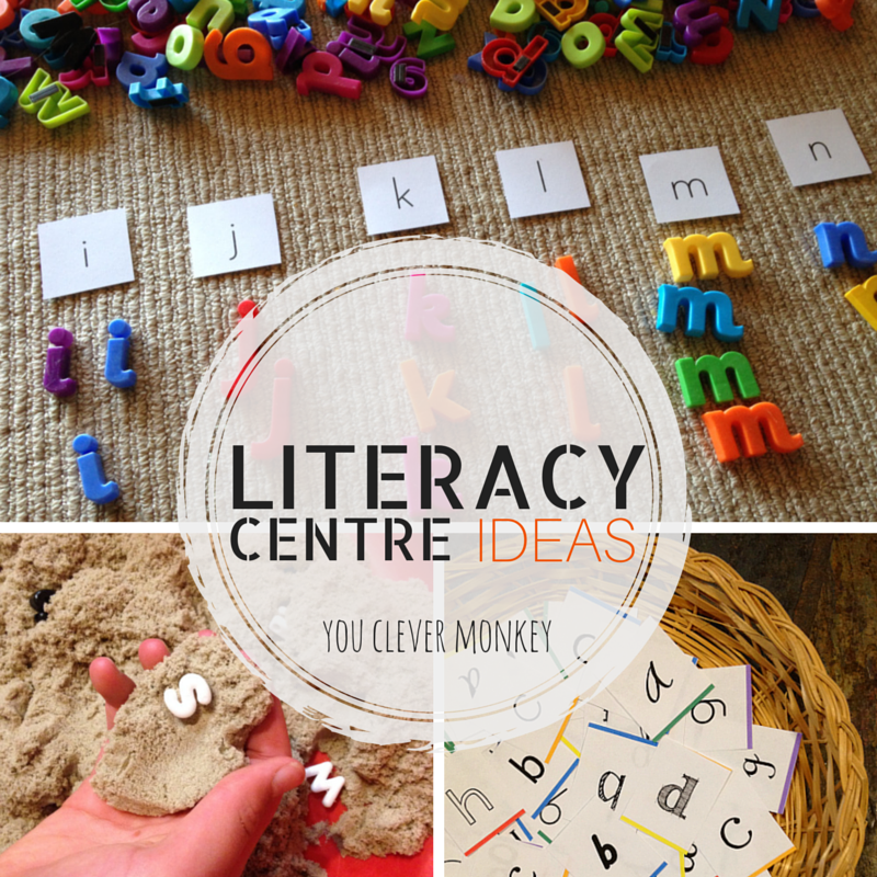 Classroom Literacy Ideas ~ Literacy centre ideas you clever monkey