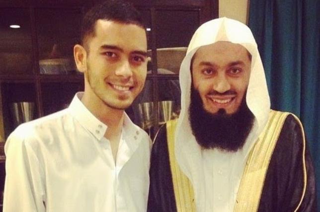 Jeremy Little bersama mufti Ismail Menk