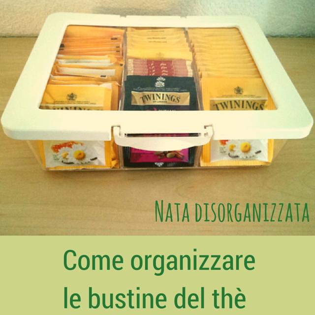 organizzare thè
