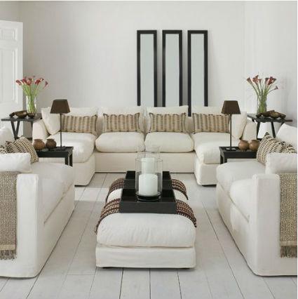 Dise os de interiores y exteriores salas para recibir for Disenos de interiores para salas