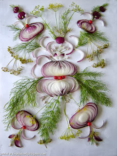 amazing creativity with onions