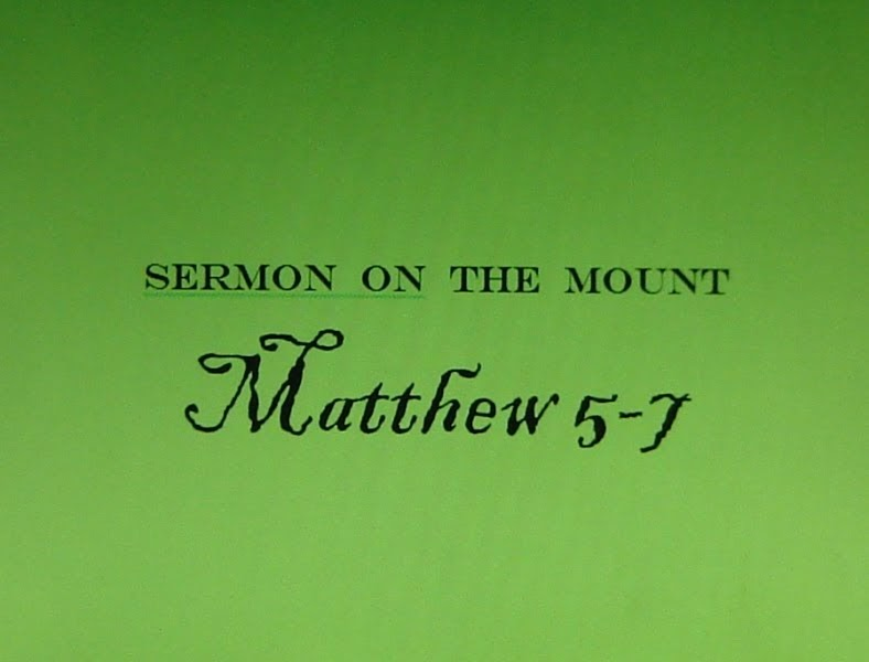 essay on sermon on the mount A diligent and carefully argued exercise in the historico-critical method, hans dieter betz' essays present the sermon on the mount (sm) as a pre-matthean composition.