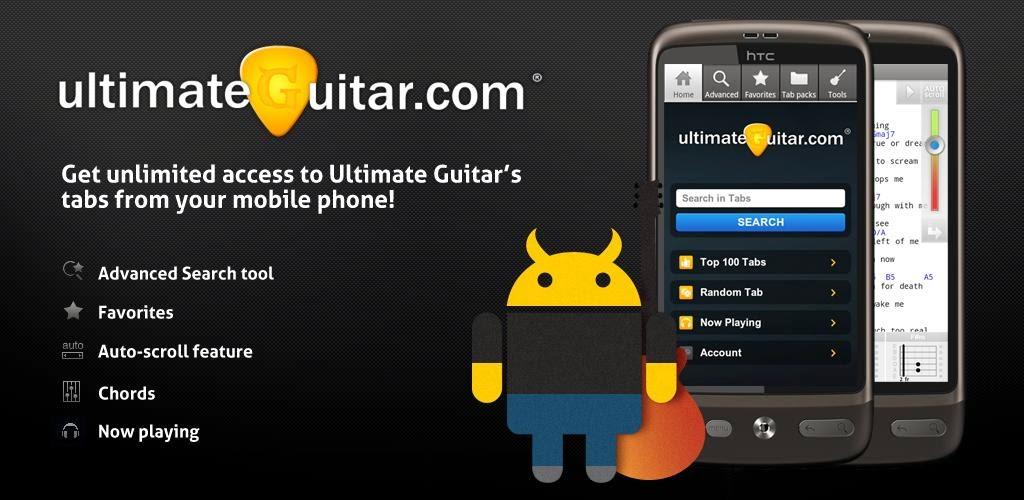 Ultimate Guitar Tabs Chords V302 Full Apk