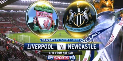 Live Streaming Liverpool vs Newcastle United 5 November 2012