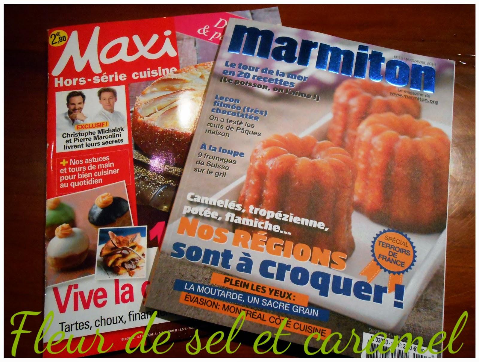 Marmiton et Maxi Cuisine