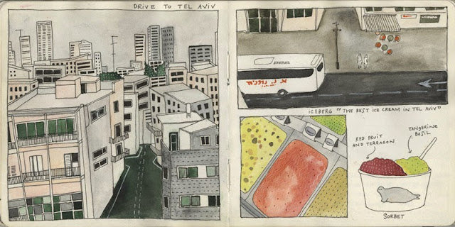 Yelena Bryksenkova sketchbook 8