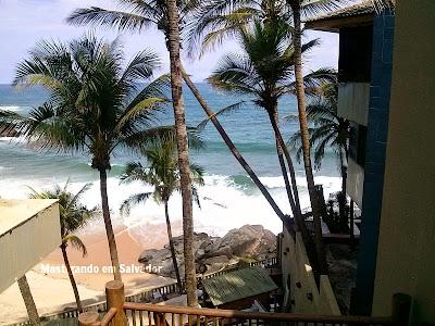 Blue Praia Bar: Vista