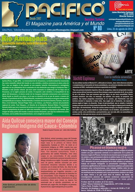 Revista Pacífico Nº 80 Turismo