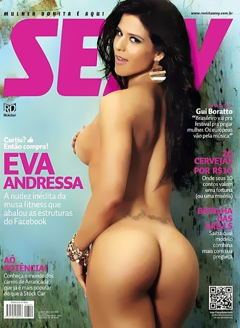 MUSA FITNESS EVA ANDRESSA POSA TOTALMENTE NUA PARA A SEXY  VEJA MUITAS FOTOS