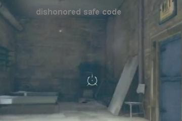 Dishonored safe combination