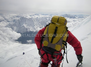 MONTAÑISMO-Rosa Fernández se encuentra a 6900 metros