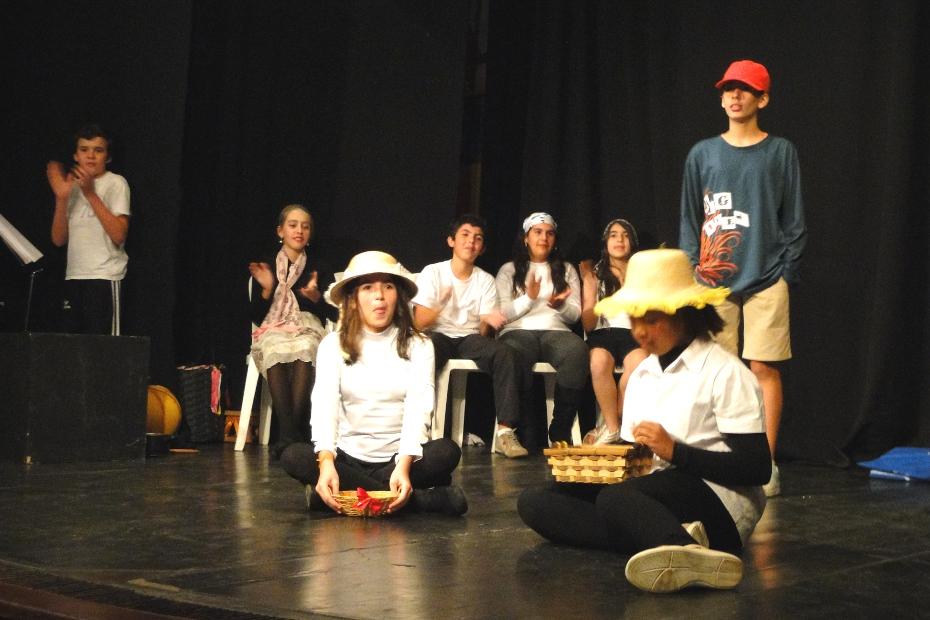 Arquivo: Curso de Teatro na Casa de Cultura Adolpho Bloch em Teresópolis