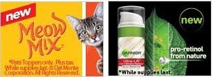 Free Meow Mix, Garnier, RevitaLens
