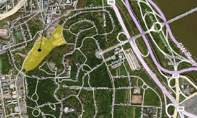 Ode Street Tribune: proposed expansion of Arlington National Cemetery