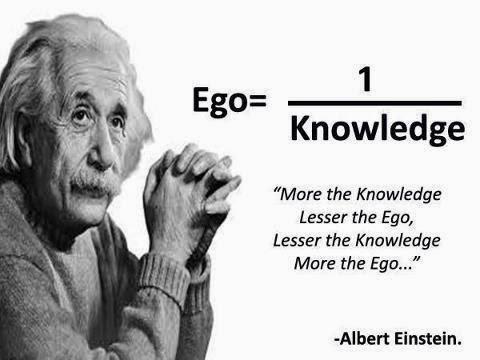 Лучшее лекарство от эгоцентризма - знание (себя! ;))