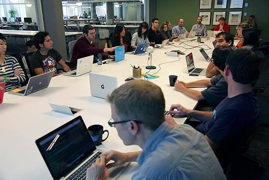 Reunião do Twitter em San Francisco