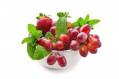 Fresas y Uvas