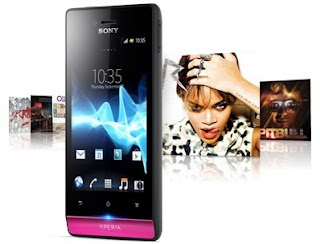Sony Xperia Miro Ponsel Android Kamera 5 MP Harga 1 Jutaan