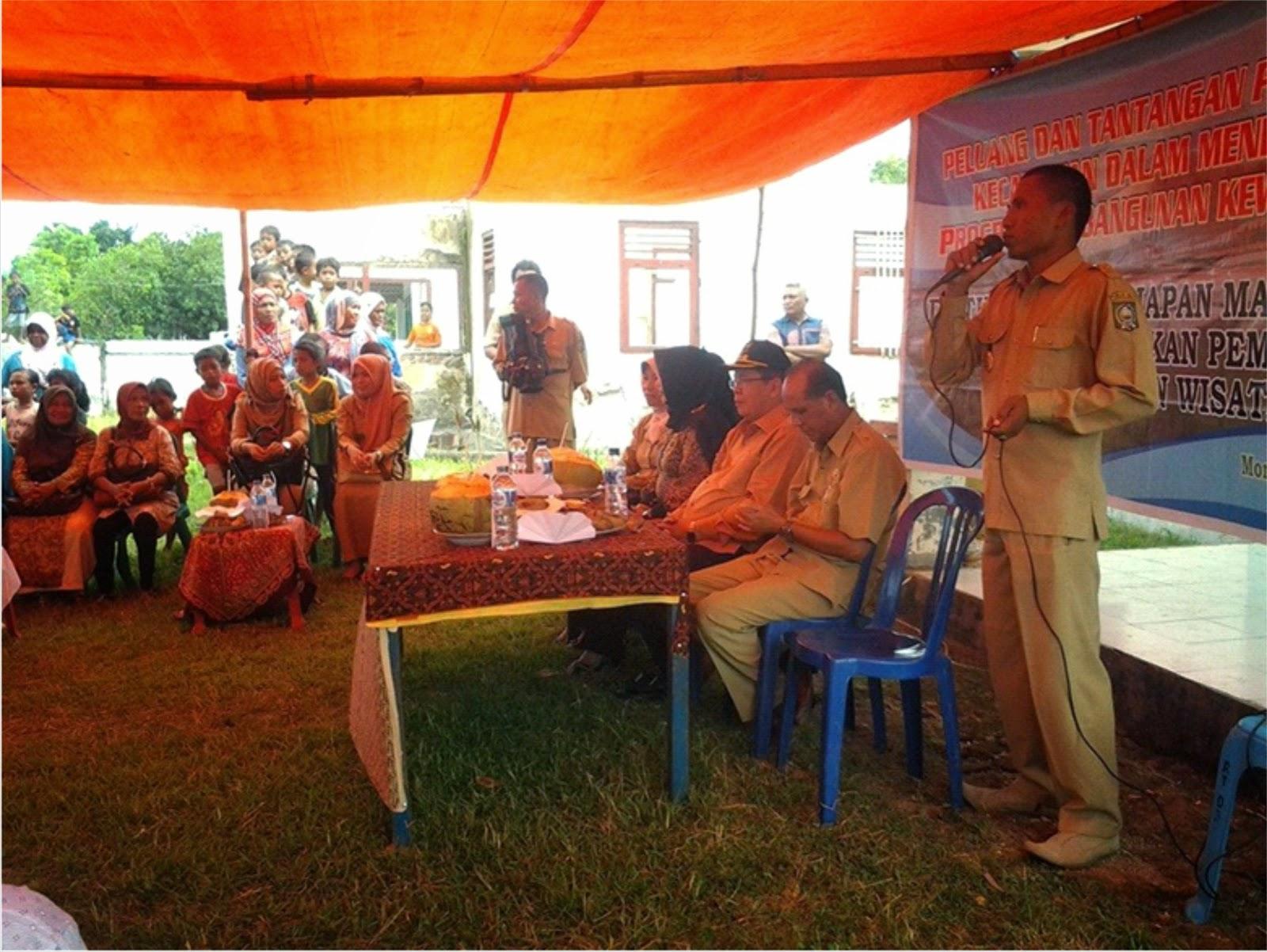 Panen Raya di Simpasai,  H. Syafru Disambut Meriah