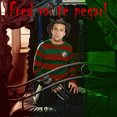 Fred comparado ao Freddy Krueger